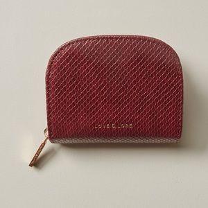Love & lore mirror card holder coin purse